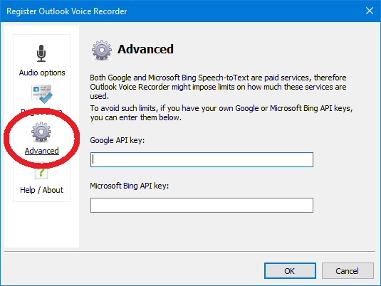 Outlook Voice Recorder - How-To