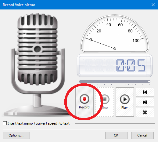 Outlook Voice Recorder